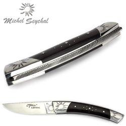 Michel Seychal Thiers BELEN - Griff Ebenholz - 12 cm Taschenmesser – Bild 5