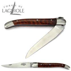 Forge de Laguiole - Griff Schlangenholz - 11 cm Taschenmesser – Bild 2