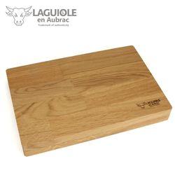 Laguiole en Aubrac Gabeln - Griff Eiche - 6er Set - passend zu den Steakmessern – Bild 5