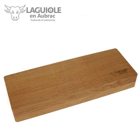 Laguiole en Aubrac - 2er Set Steakmesser - Griff Pistazien-Holz – Bild 5