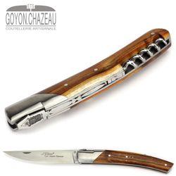 Goyon-Chazeau Le Thiers Pirou - Pistazie - Korkenzieher - 12 cm Taschenmesser – Bild 5