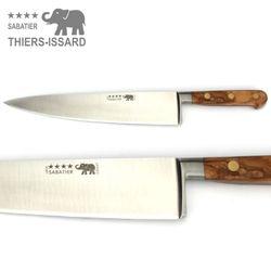 Thiers Issard Sabatier Küchenmesser Set - 5teilig - Griff Olivenholz – Bild 2