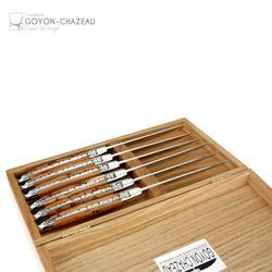 Goyon-Chazeau - Französische Steakmesser - Wacholder - 6er Set – Bild 2