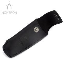 Nontron Gürtelteui - N 25 - Leder schwarz - Für 12 cm Messer Griff KEINE KUGEL – Bild 2