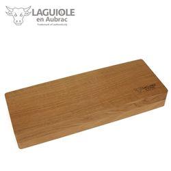 Laguiole en Aubrac - Griff Amaranth - Set 1 Steakmesser + 1 Gabel – Bild 8