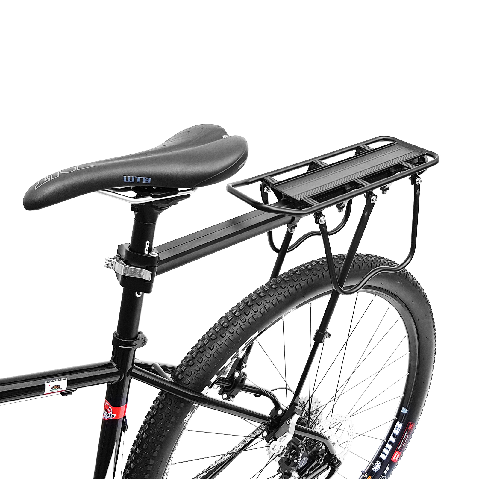 wellgro fahrrad gep cktr ger mit schnellspanner alu. Black Bedroom Furniture Sets. Home Design Ideas