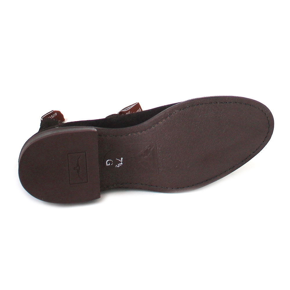 R.M. Williams Suede Comfort Turnout chocolate/suede