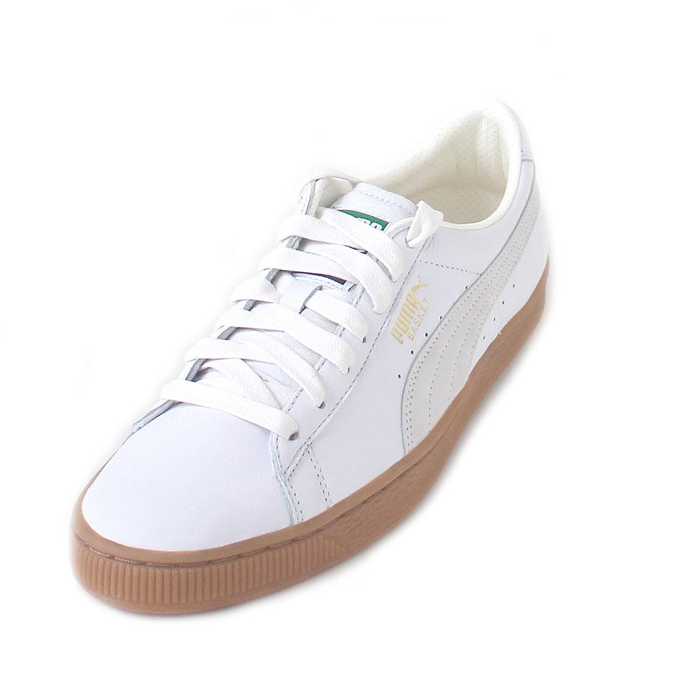 Puma Basket Classic Gum Deluxe Men puma white