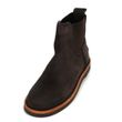 Shabbies Amsterdam Ankle Boot waxed suede dark brown