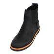 Shabbies Amsterdam Ankle Boot waxed suede black