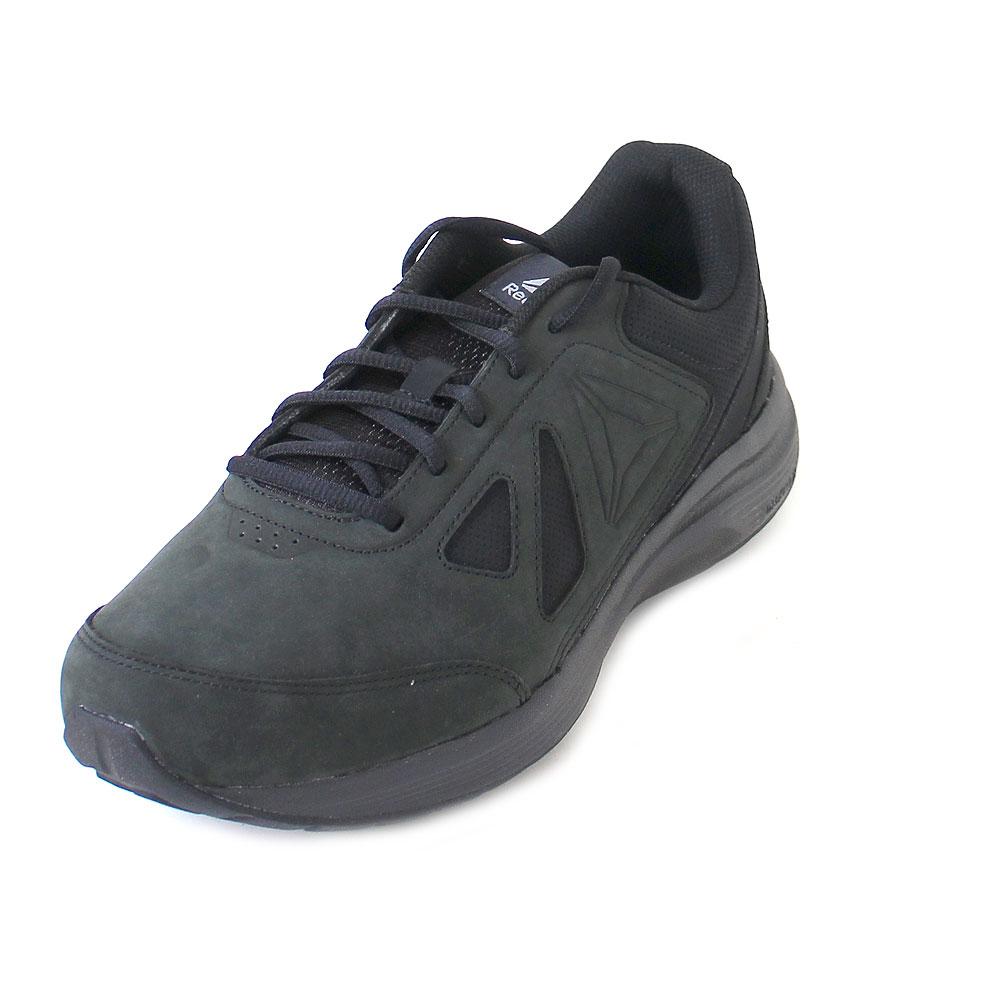 Reebok Walk Ultra 6 DMX Max BlackAlloy schwarze Schuhe