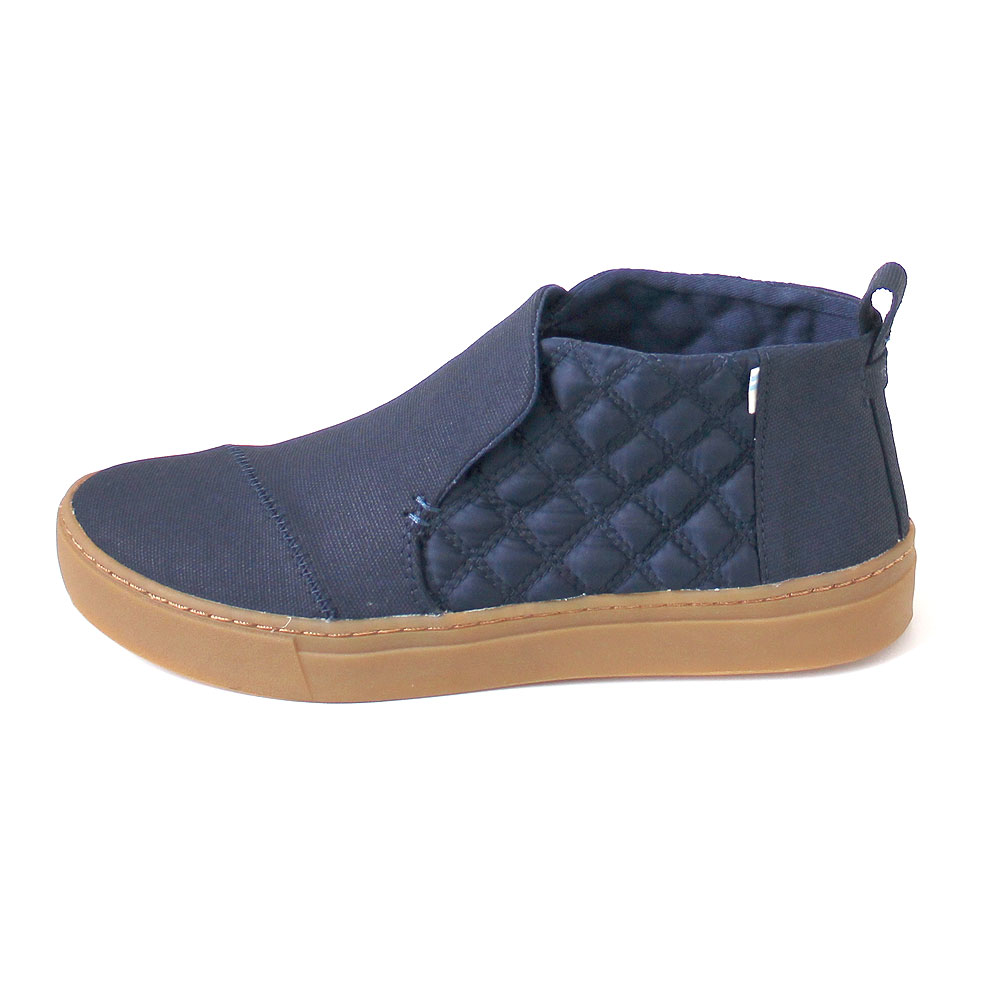 93a519017f07 Toms Paxton Women navy textural canvas quilted nylon 14580