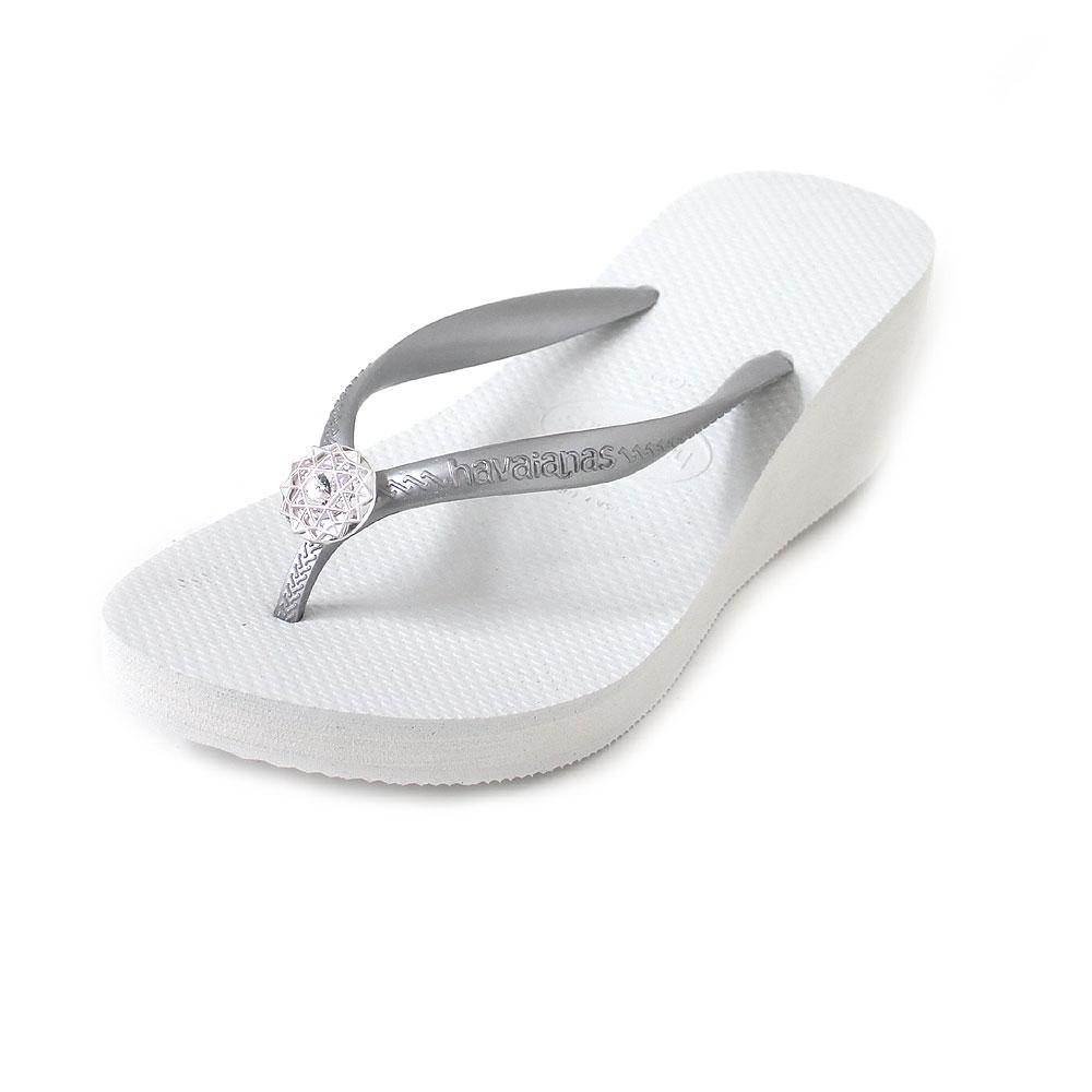 Havaianas High Fashion Poem CF white/white/silver