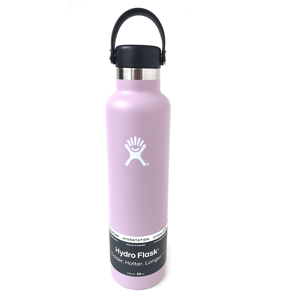 HydroFlask Standard Mouth Trinkflasche 24oz/709 ml lilac