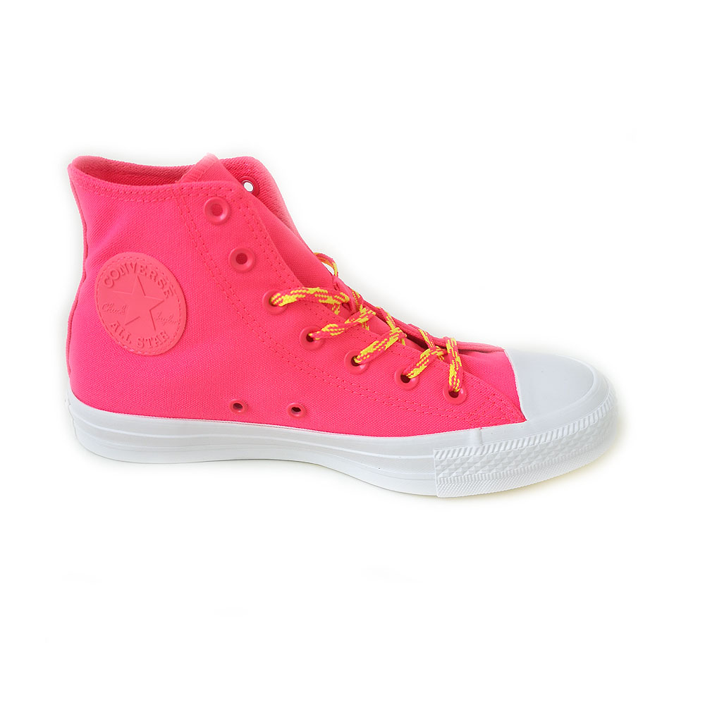 Converse Chuck Taylor All Star Glow Up High Top racer pink/fresh yellow/white