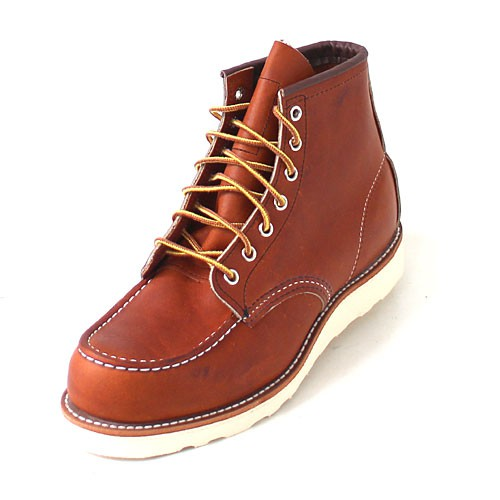 Red Wing 875 Moc Toe brown
