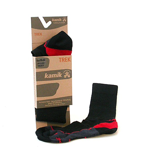 Kamik Socken Trek black/red