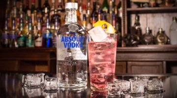 Absolut Vodka Cosmow Mule