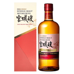 Nikka Miyagikyo Apple Brandy Wood Finish Limited 0,7L 47% vol