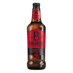Bulmers Crushed Red Berries & Lime Premium Cider 12x0,5L