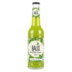 Balis Basilikum-Ingwer-Limonade 24x0,33L