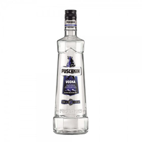 Puschkin Vodka 1,0L 37,5% vol