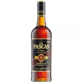 Old Pascas Ron Negro 1,0L 37,5% vol