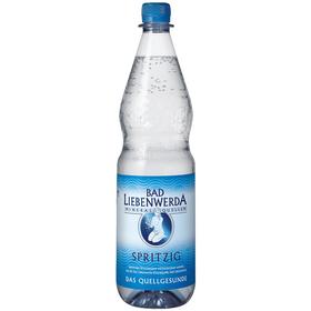 Bad Liebenwerda Mineralwasser Spritzig PET 12x1,0L