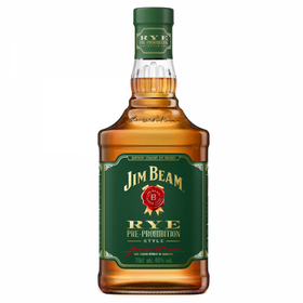 Jim Beam Straight Rye Whiskey 0,7L 40% vol