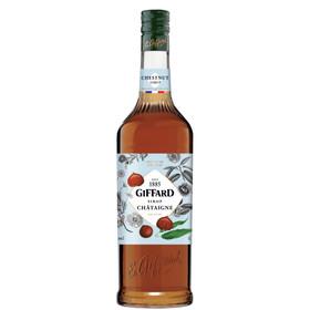 Giffard Kastanien Sirup Alkoholfrei 1,0L