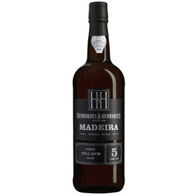 Madeira Full Rich Henriques 5 Jahre 0,75L