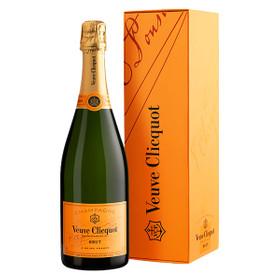 Veuve Clicquot Champagner Brut 0,75L in Geschenkverpackung
