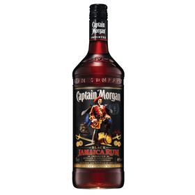 Captain Morgan Rum Black 1,0L 40% vol