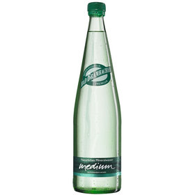 Bad Brambacher Mineralwasser Medium Gourmetflasche 20x0,50L