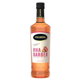 Wollbrink Rhabarber Likör mit Wodka 0,7L 15% vol
