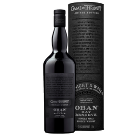 Oban Bay Reserve Game of Thrones The Night's Watch Limited Edition 0,7L 43% vol