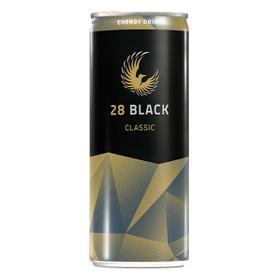 28 Black Classic Energy Drink 24x0,25L