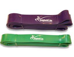 eaglefit® Fitness-Band aus Naturlatex, Klimmzug-Band und Krafttraining – Bild 1