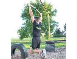 eaglefit® Fitness-Band aus Naturlatex, Klimmzug-Band und Krafttraining – Bild 7