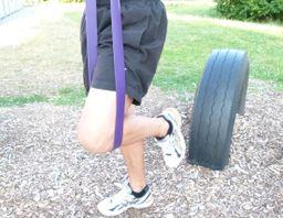 eaglefit® Fitness-Band aus Naturlatex, Klimmzug-Band und Krafttraining – Bild 9