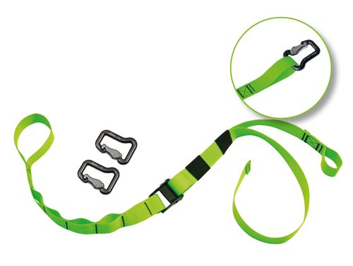 "eaglefit® Sling Trainer Befestigungsband ""EXCLUSIVE"" mit 2 Aluminium-Sicherheits-Karabiner"