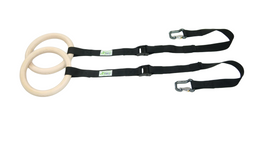 eaglefit® Sling Trainer - Turnring-Griffpaar mit längenverstellbarem Band, inkl. 2 Karabiner 001