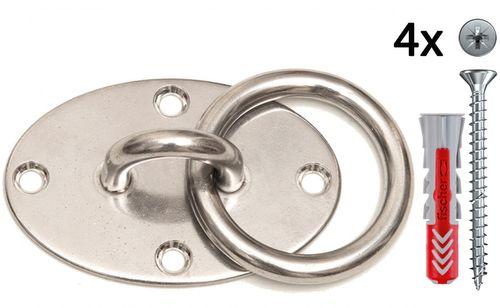 eaglefit® Sling Trainer EXCLUSIVE; Turnringe, Deckenbefestigung, Türanker;  – Bild 2