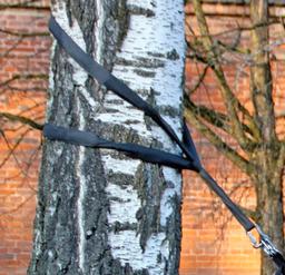 eaglefit® Sling Trainer Befestigung - 4m Baumschlinge mit Karabiner – Bild 4