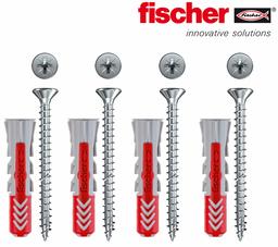 4 DUOPOWER Dübel und Schrauben von Fischer 001