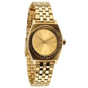 NIXON - The Small Time Teller All Gold Crystal A399-1520, Damenuhr