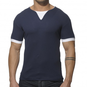 Addicted Ribbed T-Shirt