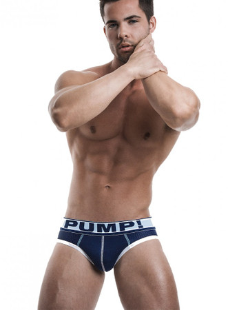 Pump! Underwear Blue Steel Brief – Bild 2