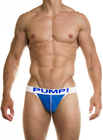 PUMP! Underwear Neon Royal Jock – Bild 1