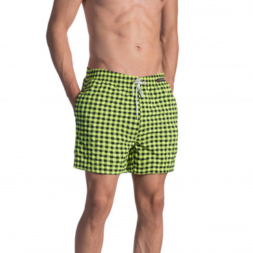 Olaf Benz BLU1660 Shorts check citro  – Bild 1